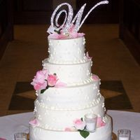 Nikki's Wedding Cake