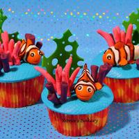 Nemo I've made these cupcakes for my daughters birthday. She loves nemo!!