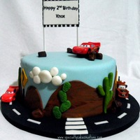 Cars And Tow Mater Cake Usually I prefer the van for deliveries, but it happened to be that day I had to use my husband's car (a Porsche 928). It didnt go...