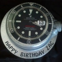 Rolex Face Cake Really pleased how this one turned out :-)