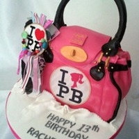 Paul's Boutique Bag - Tilly Twister Barbie Bag Vanilla cake with raspberry jam and vanilla buttercream. The bag charm is real so the birthday girl could keep it! My first attempt at a...