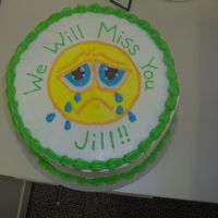 Going Away   This was done for a co-worker/friend's going away part.