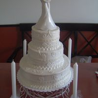 Nick And Brittany's Wedding Cake