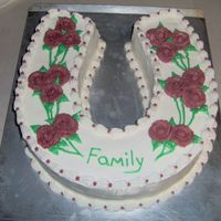 Family   This cake was done for a family get together.