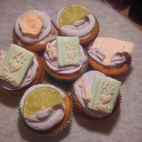 Margarita Cupcakes Made for a friend's birthday party. Added extra flavor by spiking the cupcakes with extra margarita mix and frosted with some birthday...