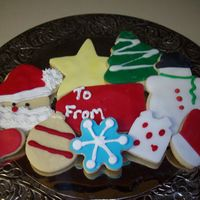 My Favorite Thing About Christmas i love making decorated christmas sugar cookies mix of fondant and royal icing
