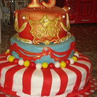 Circus Theme A Vintage Circus themed cake for a 13 year old's birthday.