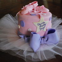 Ballet Dance Recital Cake Ballet Dance Recital Cake. Design credit goes to cakesbydusty.com.