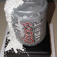 Coor's Light Beer Can Cake