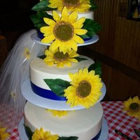 Sunflower Picnic Wedding