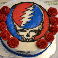 Grateful Dead Cake For my daddy!