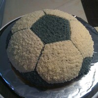 First Soccer Ball Cake!!