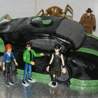 Ben 10 Car Cake My first attempt at a shaped cake.