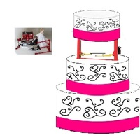 Wedding Cake. Drawing   This is the cake l designed for my wedding