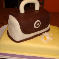 My 1St Purse Cake! This is my first attempt at a purse cake, and the inspiration I got here from the photos, so THANK YOU all for it!!!