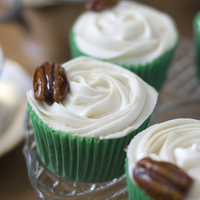Maple Syrup And Pecan Cupcakes Yummy!