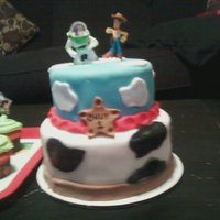 Toy Story last minute cake!!!!