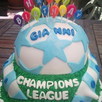Naples Champions League Cake