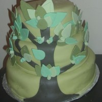 Tree Cake CSM: This is not an original design, i took inspiration from a picture my friend sent me. had fun making this, but the bottom tier kind of...