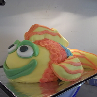 Rainbow Fish Cake My first marshmallow fondant covered cake. I enjoyed working with the MMF, it was easy with which to work, manipulate, and create various...