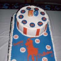 Ralph Lauren Polo   The stripes and polo logo is made of fondant, the rest is all buttercream