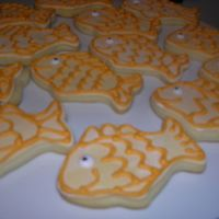 Goldfish Cookies   with MMF and royal details