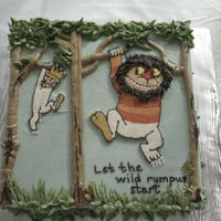 Where The Wild Things Are This may be my favorite cake yet. I keep saying that, but who doesn't love Max and his Wild Things? This was for a boy baby shower and...