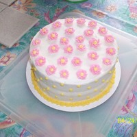 Simple Easter Cake This is one of my first decorated cakes. It is a made from scratch carrot cake that turned out wonderfully moist!! It is covered and...
