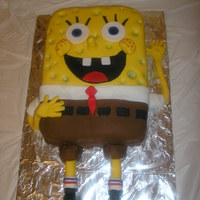 Sponge Bob This cake was a lot of fun and turned out better than I thought it would.