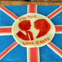 For Royal Wedding cake for tea party for royal wedding celebration