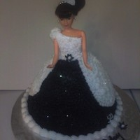 Barbie   I made This cake for a co worker friend 50 th birthday ,
