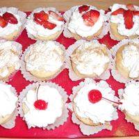 Pastel De Tres Leches Cupcake The first time I ever made Tres Leches cake and I made it as cupcakes. Big learning experience. Three different toppings strawberries,...