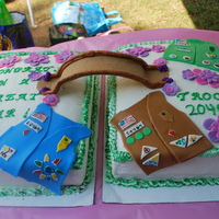 Girl Scout End Of Year Cake