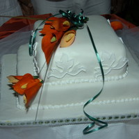 Orange And White Theme   Jamaican Fruit Cake