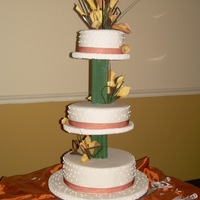 Love Suspended   This Layered Jamaican Wedding cake was made with Jamaican Fruit Cake If you are in Jamaican I may be contacted at (876) 320 1059