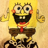 Spongebob Square Pants this was for my sons 2nd birthday