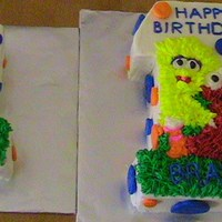 1St Birthday   I made this for a friend for her son's first birthday.