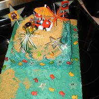Mario Cart Beach Bash Did this for my son's 4th birthday inspired by the video game they can't get enough of. It was really cool cause we got to do the...