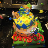 Carson's Toy Story Cake