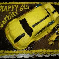 Transformers Bumblebee My son's 6th birthday cake