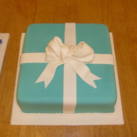 Tiffany Box Wedding Or Engagment Cake