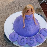 Barbie What girl wouldn't want a barbie cake?