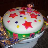 Dora The Explorer Cake I made this for my nieces 5th Birthday. She loved it!