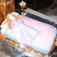 Sleeping Beauty This cake took me 7 hours to create...but to see my 5 year old daughters face when she saw it made it so worth the time and effort. All...