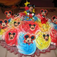 Mickey Mouse Cupcake Bouquet Cupcakes