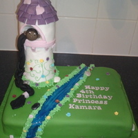 Rapunzel Cake  I'm new here, and this is the first cake I've been asked to make for money. I've learned a lot from browsing this site, so I...