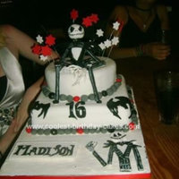 Jack Skellington Birthday Fondant Jack Skellington