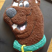Scooby Doo Cake Scooby cake for my nephews 3rd birthday party.