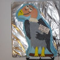 30Th Ol Buzzard My friends 30th birthday - no quite over the hill - cake