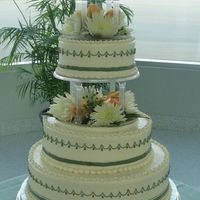Bethany & Kevin's Cake This is the cake I made for my daughter's wedding.